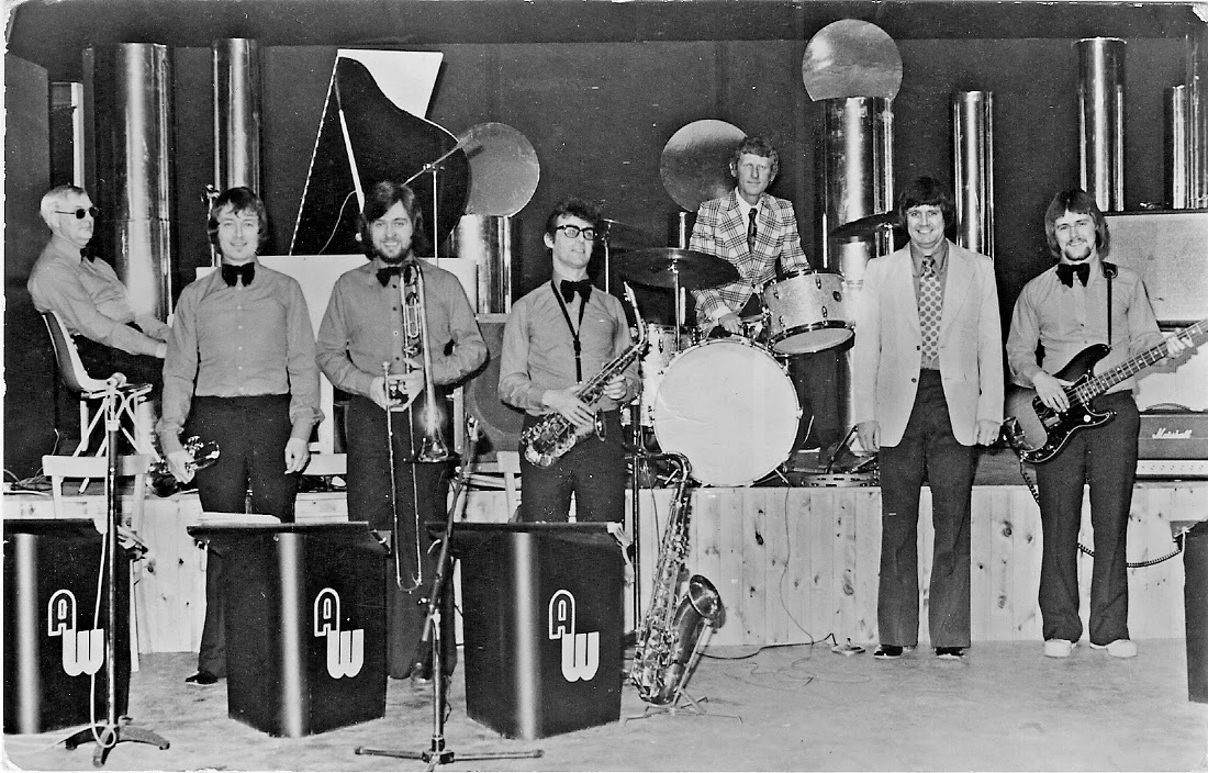 Much in demand in the late 1950's The Arthur Ward Band