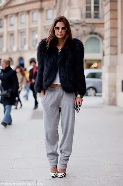 """Tendencia """"sport chic"""" 2012:El pantalón de chándal es el nuevo tejano."""