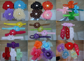 flower hairbands for sale