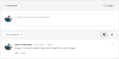 google plus comments