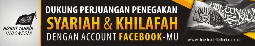 Dukung Website HTI dengan Facebook dan twitter