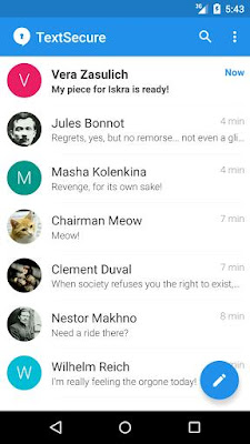 Signal Private Messenger 3.9.1 APK for android terbaru