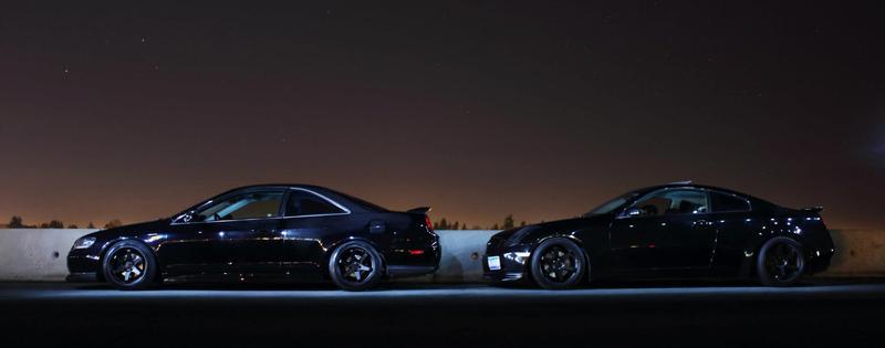 Honda Accord coupe, ciekawe samochody, japońskie, sportowe, VTEC yo, bilder, czarna