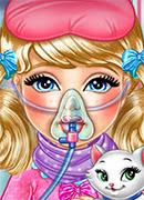 Челси лечит грипп - Онлайн игра для девочек