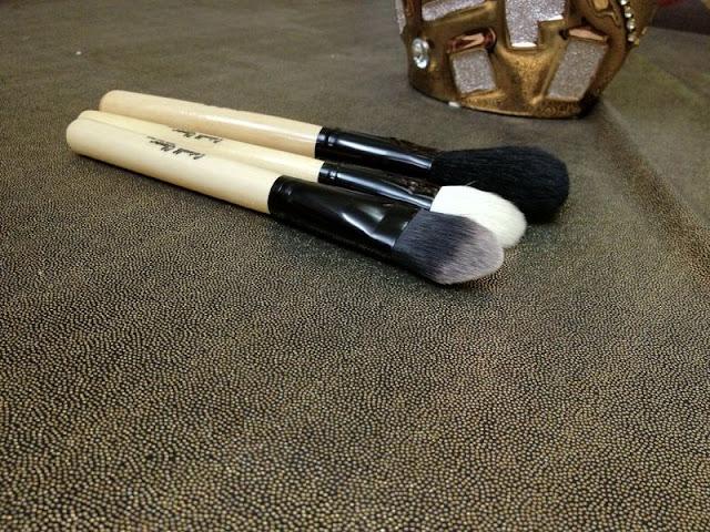 Catwalk-Glamour Luxury Sable 8 Makeup Brush Set reivew