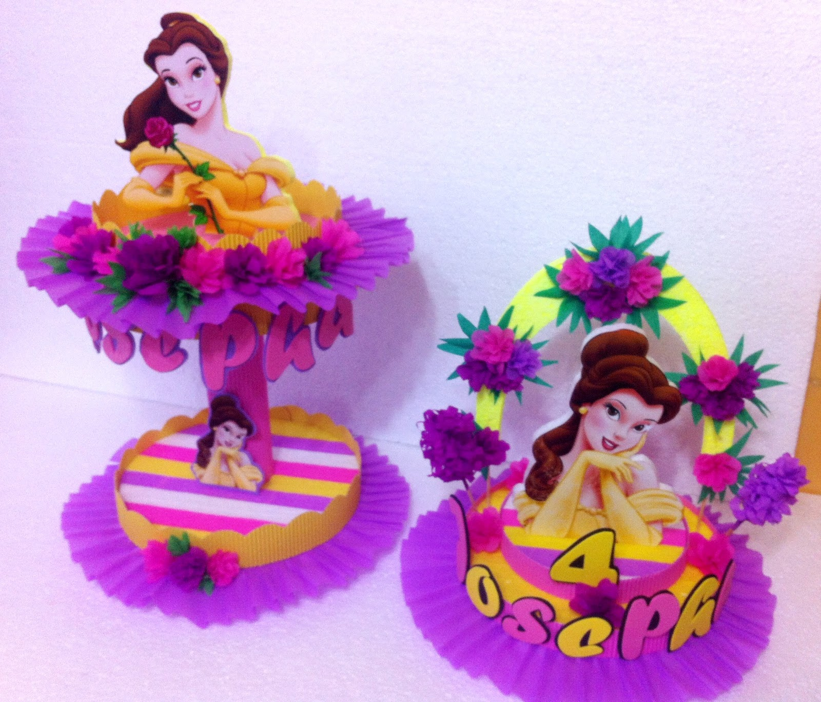Centros mesa dulceros para fiestas infantiles picture for Decoracion de princesas