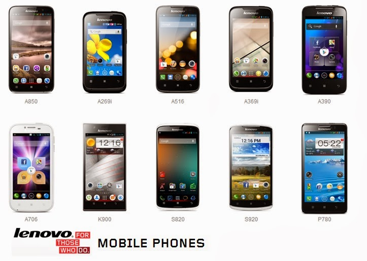 Lenovo Android Smartphones Line up for 2013 ranging from affordable ...
