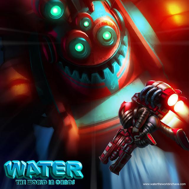 WATER: The World in Chaos, un nuevo juego de acción con jetpacks y muchos disparos