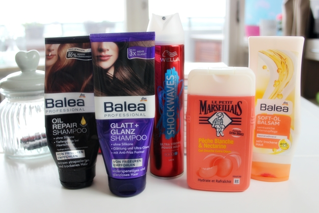 Aufgebraucht, BALEA professional, WELLA Shockwaves, Le petit Marseillais, Beauty Review