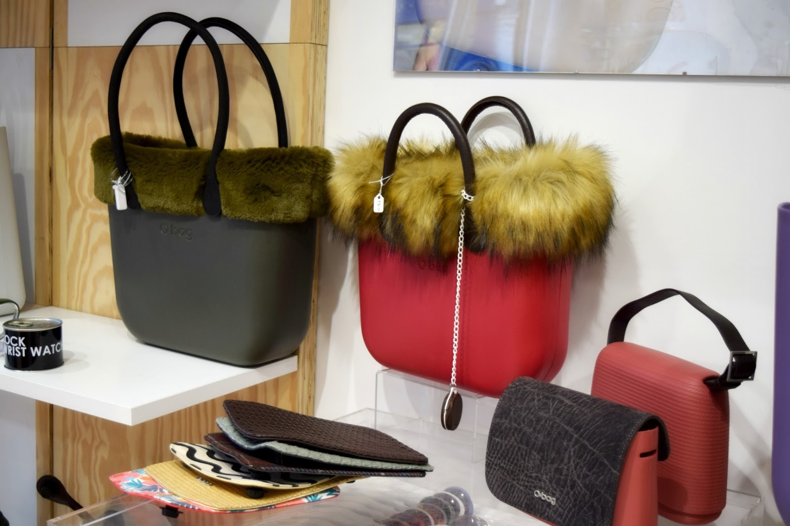 Handbags from the OBag Factory in London
