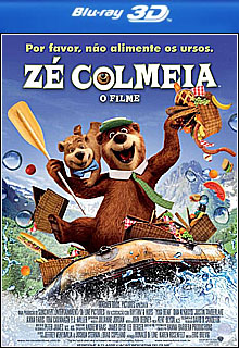 Zé Colmeia   O Filme 3D Half SBS BluRay 1080p Dual Áudio Capa