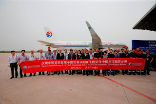 China Eastern Airlines welcomes new A320 [Photo: Airbus]