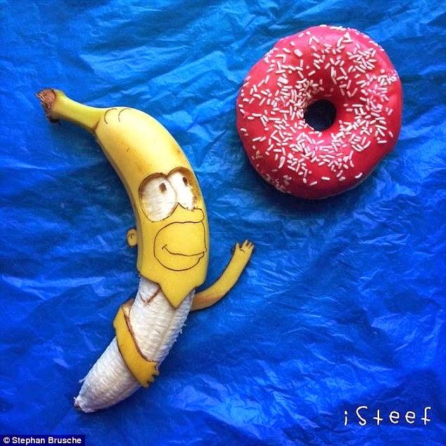سيبسون على الموز
