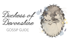 Georgiana's Gossip Guide to the 18th century logo