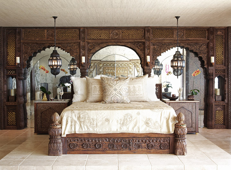 These Bedrooms Contain Expressions From Istanbul, Morocco And India, Mixed  With Stylish Flair, To Create His Enduring Signature Style.