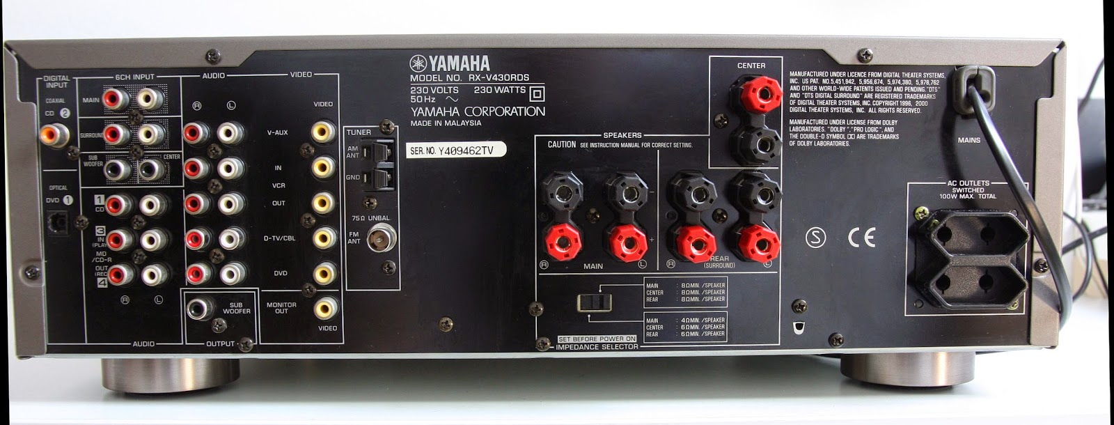 Yamaha Av Receiver Wiring Diagram The Best Parts Auto