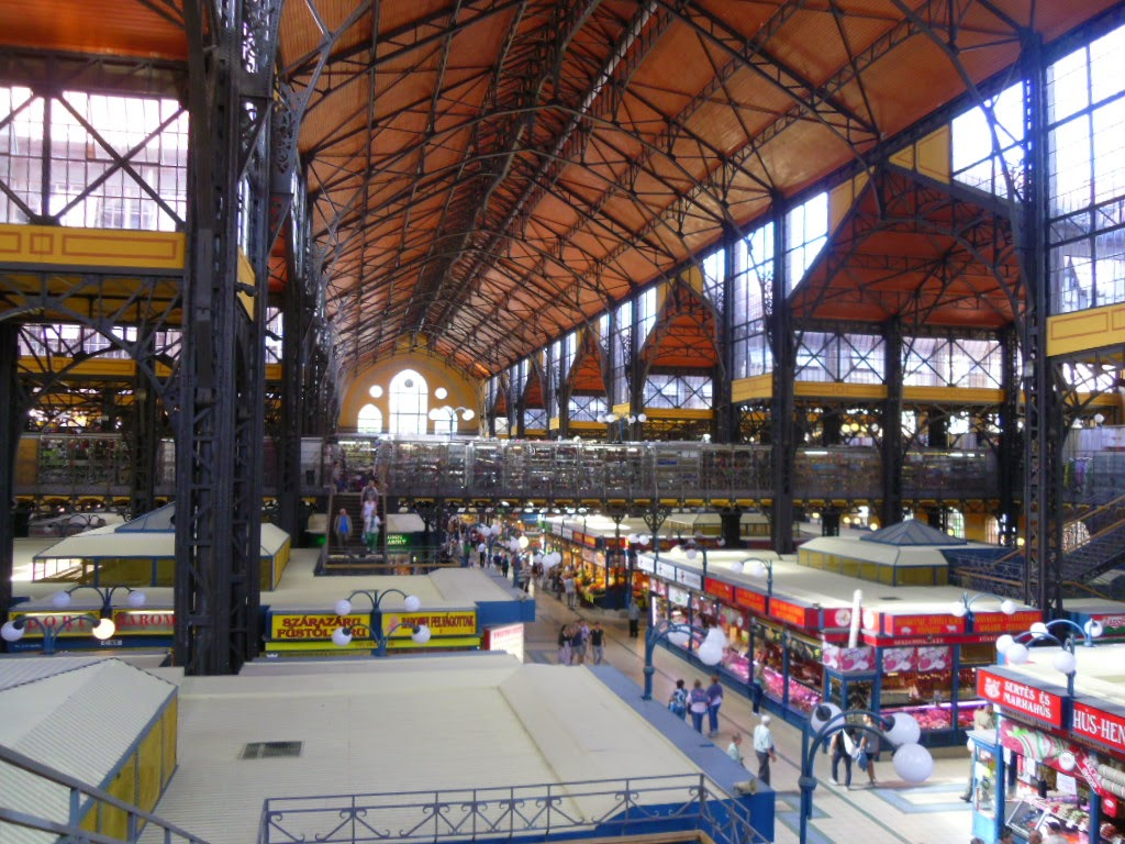 Central Market Hall por dentro