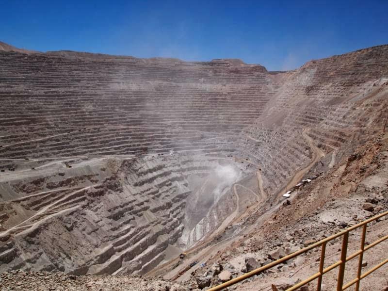 Mina Chuquicamata en Calama