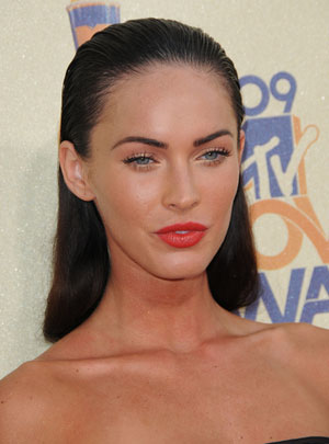 Ga In No Makeup Face. megan fox without makeup 2010.