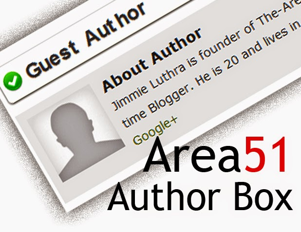 blogger author box