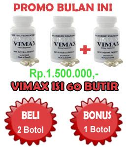 vimax+60+butir+bonus Obat Pembesar Penis Alami