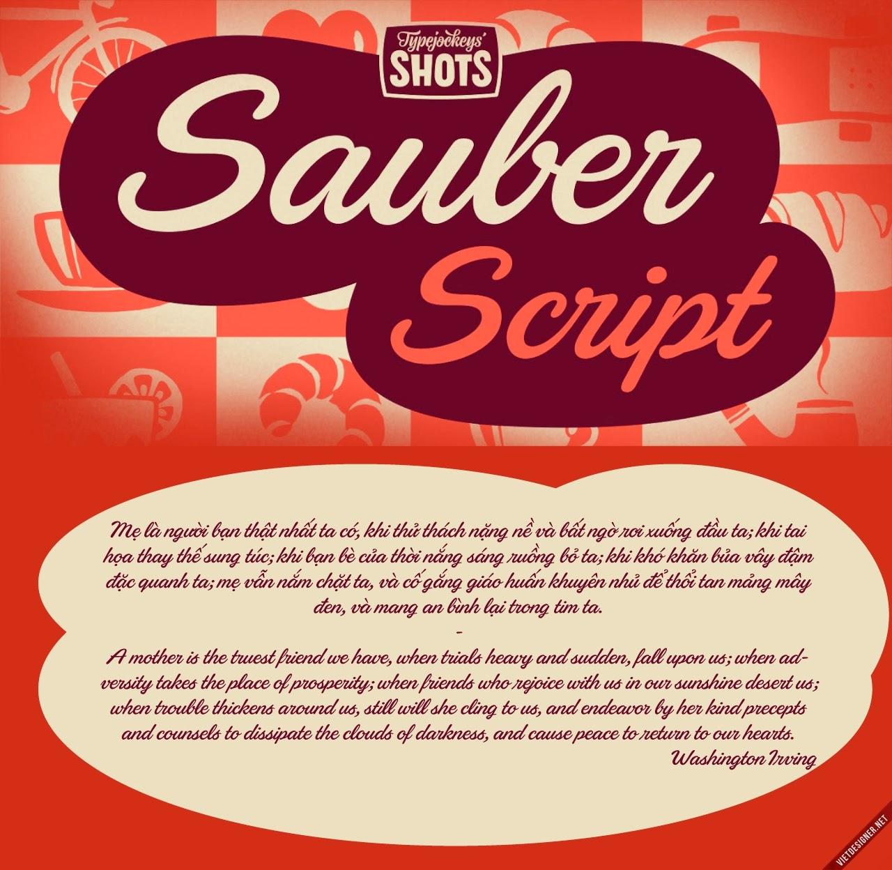 [Script] Sauber Script Việt hóa