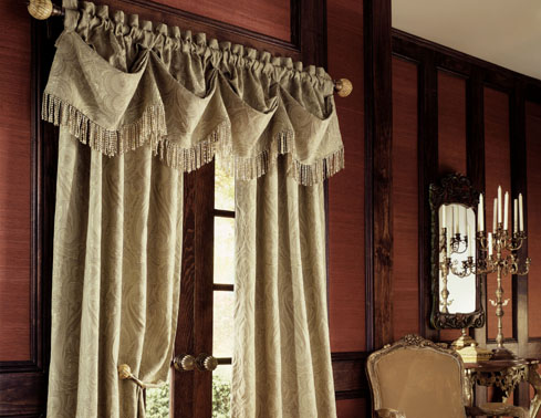 Window curtains and draperies design ideas