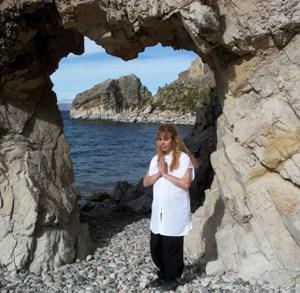 Entrando al Templo del Corazón Sagrado