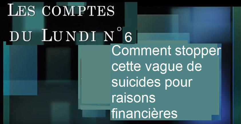 Les suicides dans le monde paysan