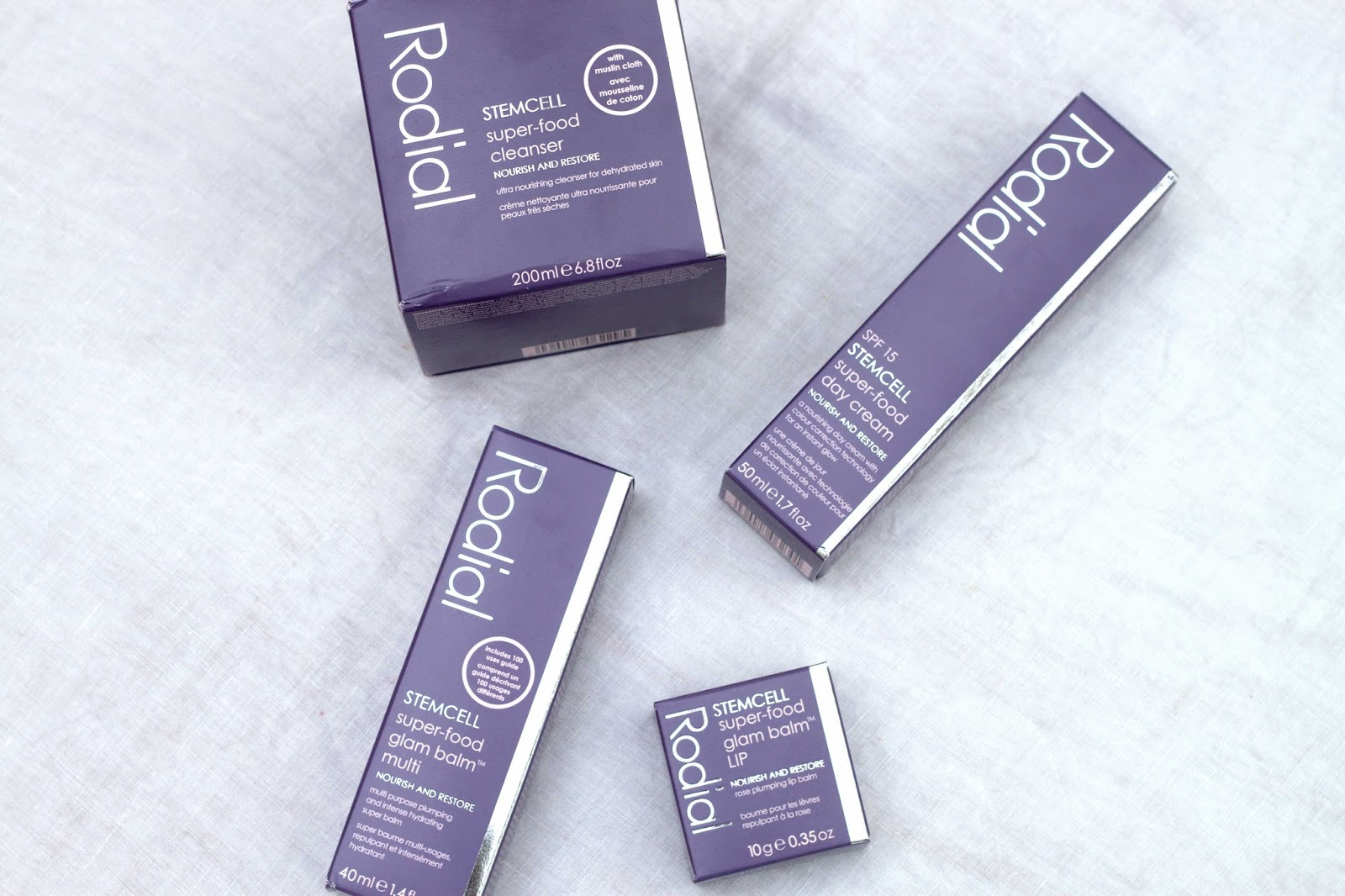 BEAUTY : THE RODIAL STEMCELL SUPERFOOD RANGE