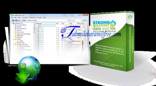 تحميل برنامج StrongRecovery 3.1.0.1 لاسترجاع المحذوفات