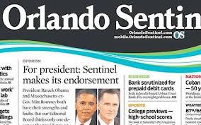Romney Receives Endorsement of Orlando Sentinel