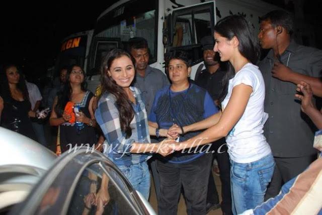 Katrina Kaif kiss Rani Mukherjee