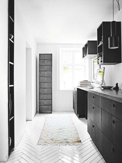 mintsix: bathrooms + kitchens   herringbone pattern tiles