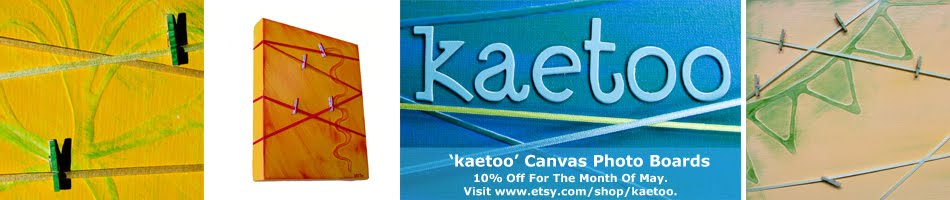 &#39;kaetoo&#39; Canvas Photo Boards