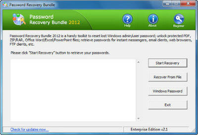 Password Recovery Bundle 2012 Enterprise Edition