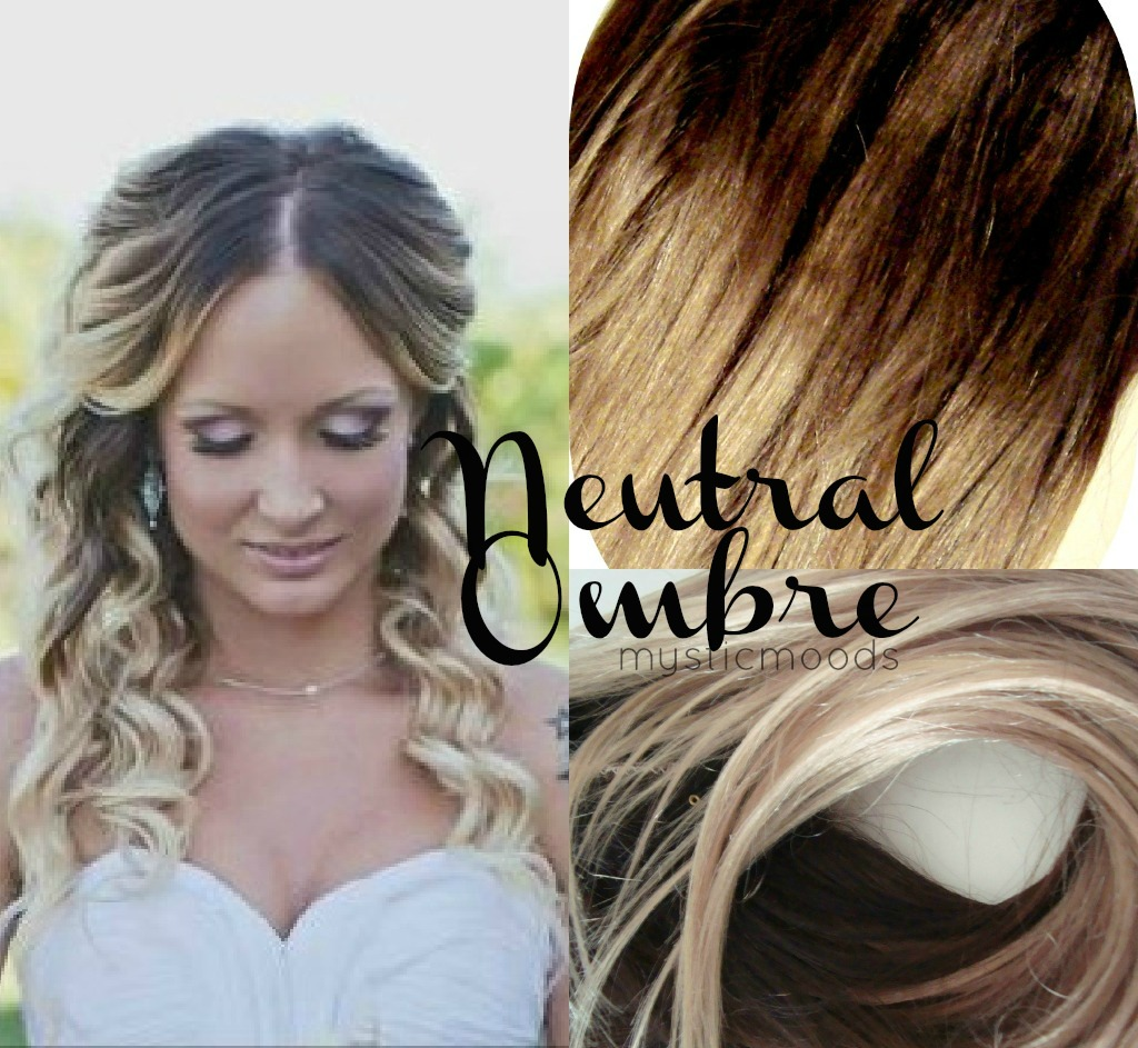 Mystic Moods Neutral Ombre Hair Extensions Accepting Custom Orders