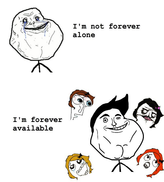 I'm Not Forever Alone - I'm Forever Available