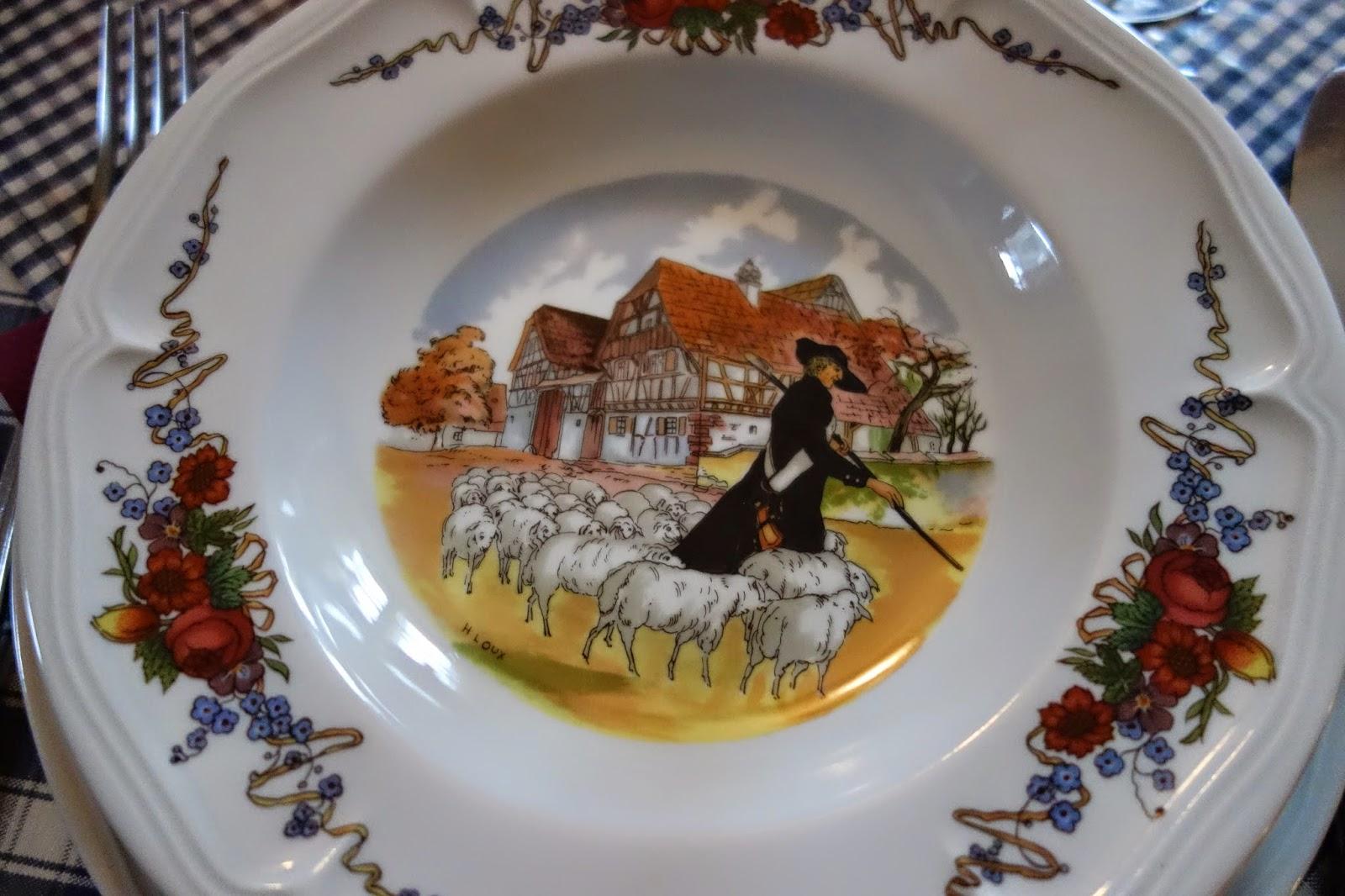 Эльзасская посуда Obernai Loux