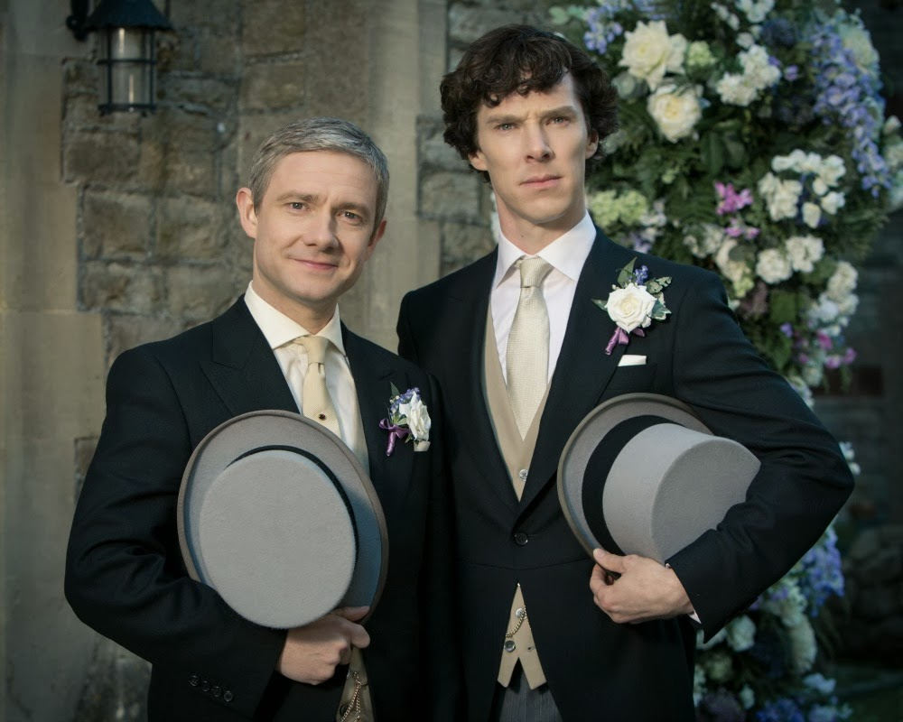 Sherlock Series Three The Sign of Three BBC
