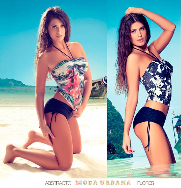 Tankini strapless con culotte Cocot 2013