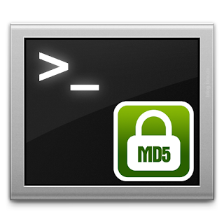 How to Check MD5 Hash using terminal