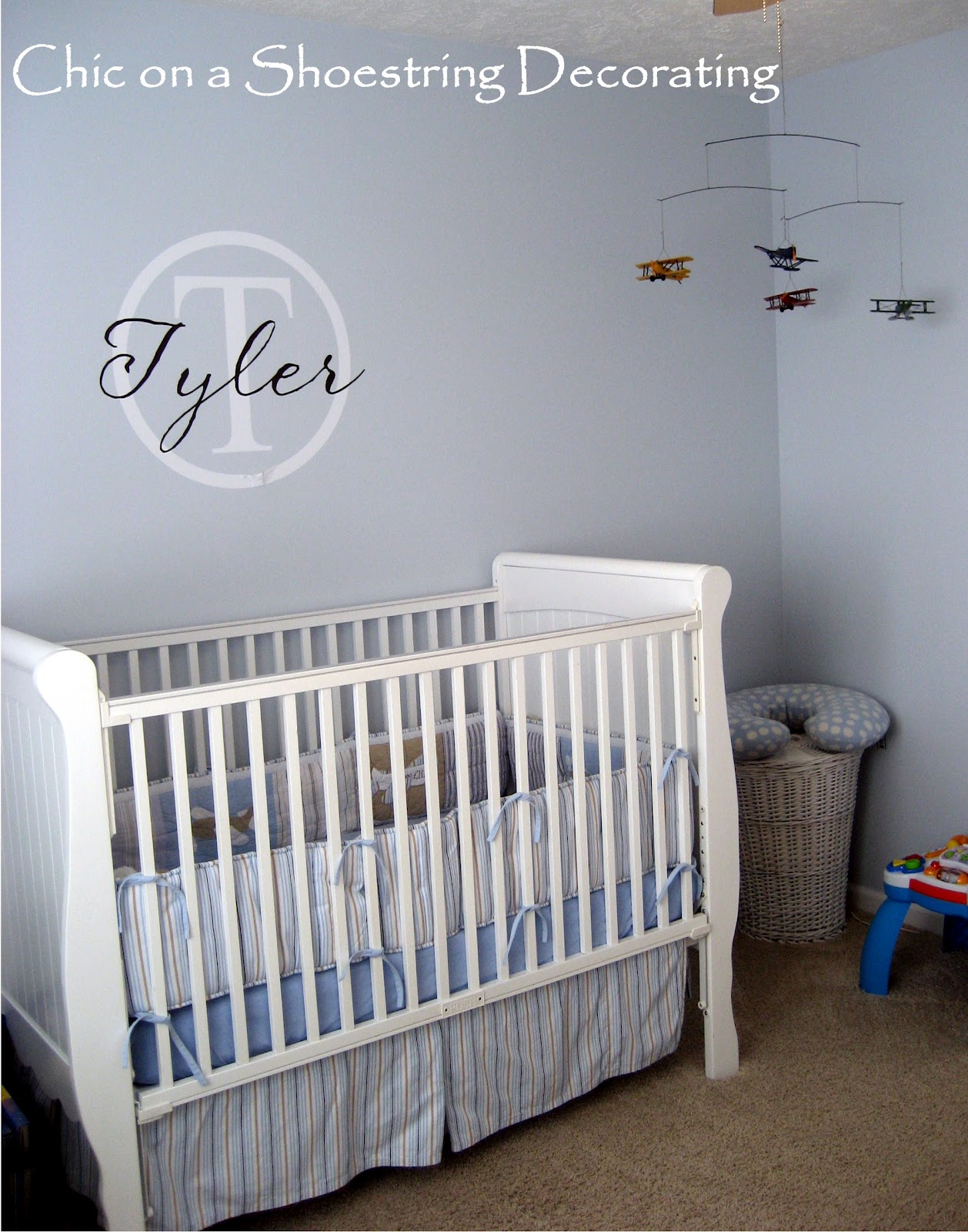 My Boy's Nursery Tour