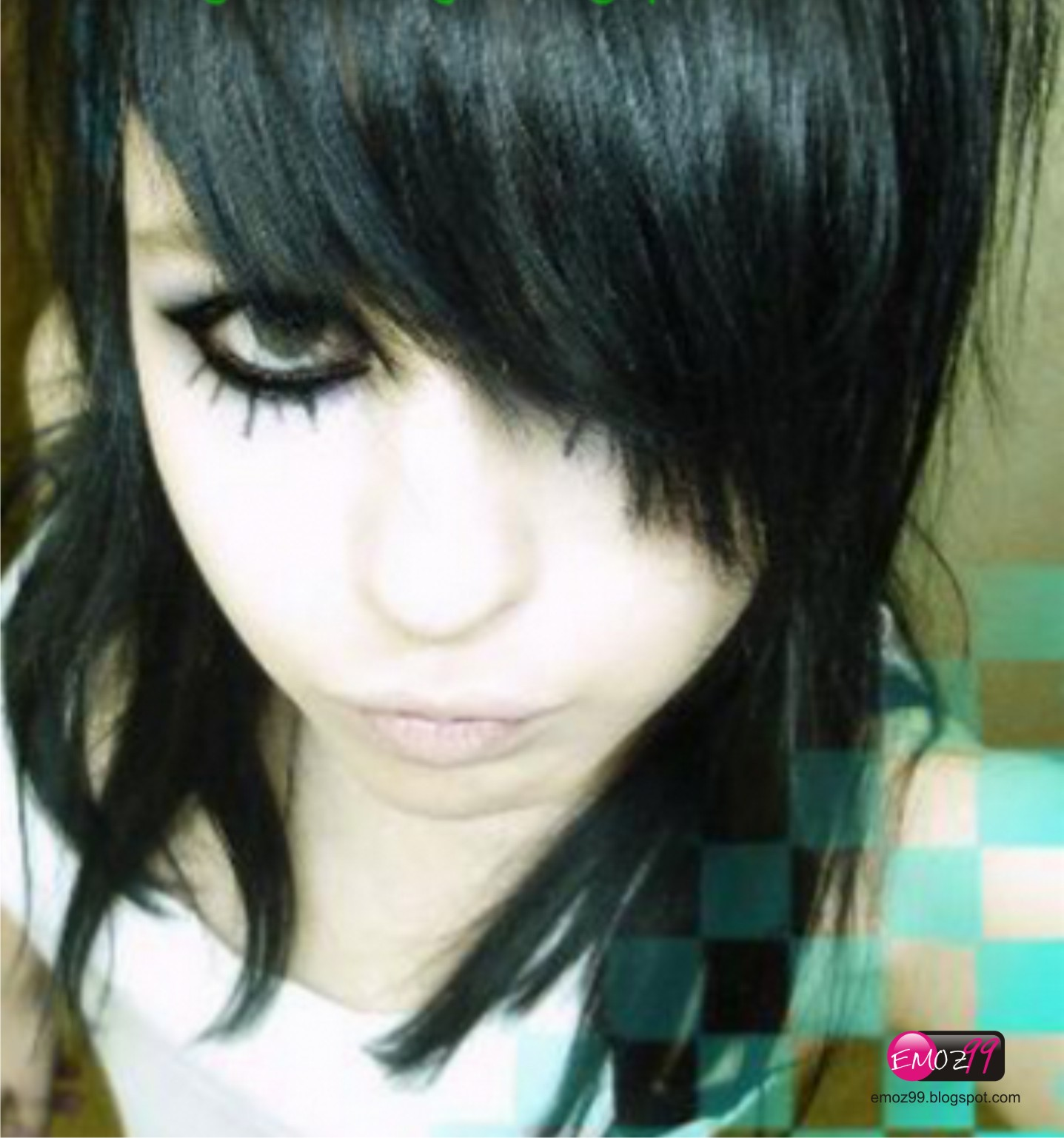 Emo's World: Emo Hair Style # 5