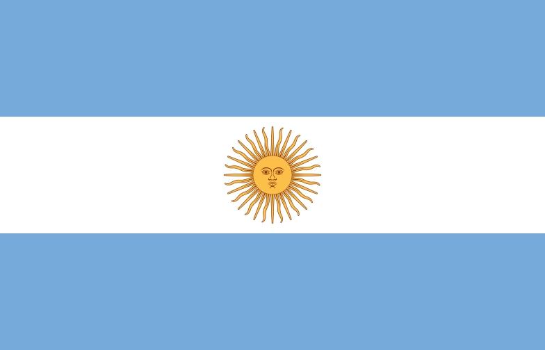bendera argentina