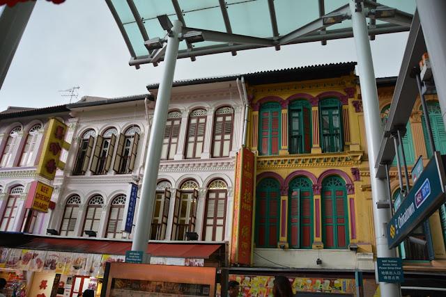 Pagoda Street Singapore facade