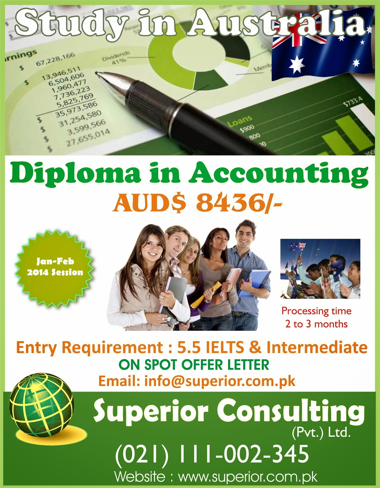 Accounting Courses in Australia | Study in Australia