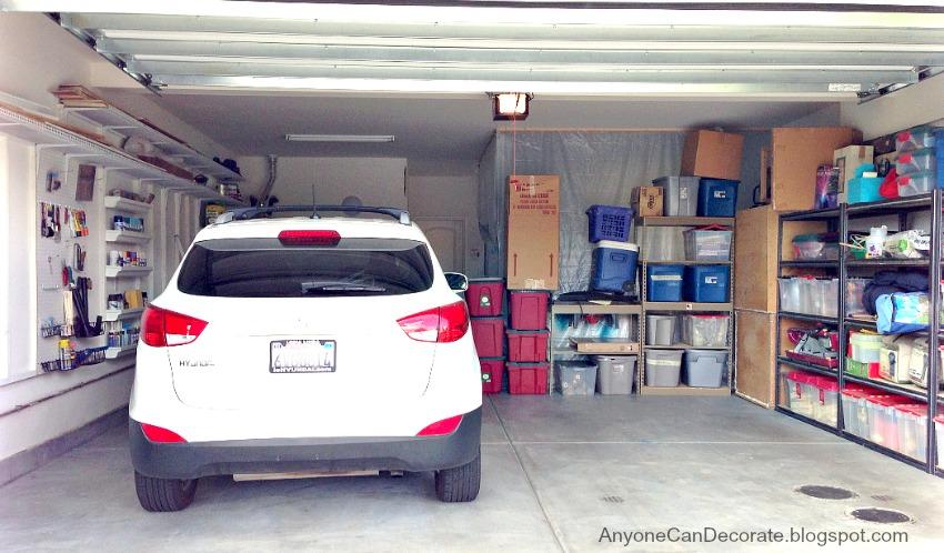 Anyone Can Decorate Custom Garage Organizer On A Budget