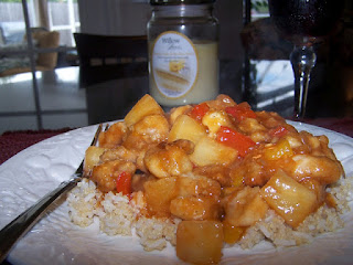 30 minute gluten free Sweet and Sour Chicken is our favorite meal