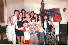 La yaya con sus hijas y todos sus nietos